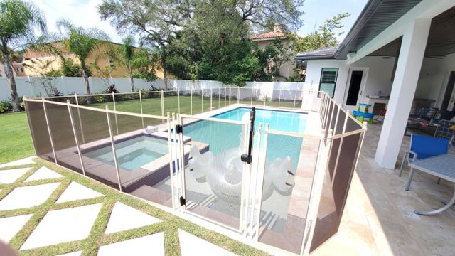 Pool Safety Fence in Temple Terrace